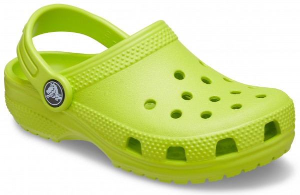 Classic Clog Kids Lime Punch Croslite