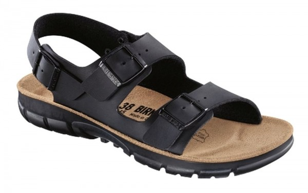 Kano Black Soft Footbed Birko-Flor