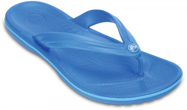 Crocband Flip Ocean / Electric Blue Croslite