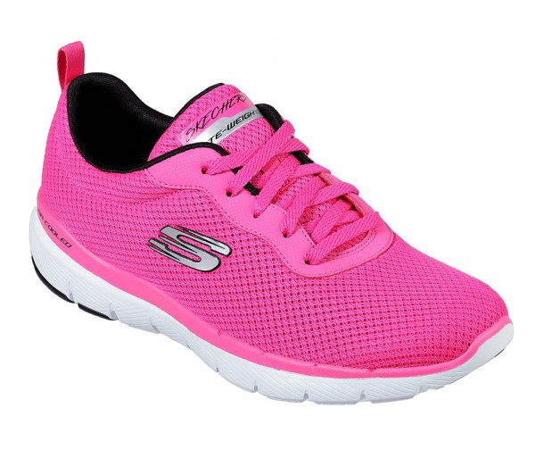 Flex Appeal 3.0 - First Insight Hot Pink / Black Textile