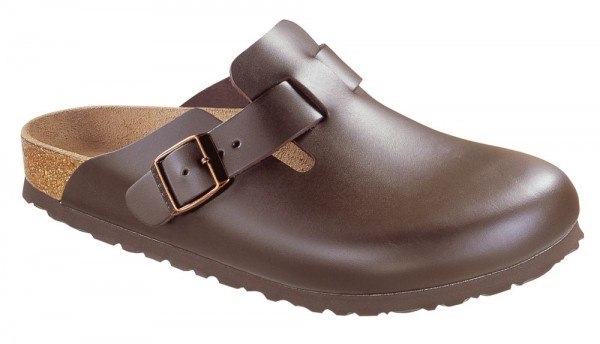 Boston Dark Brown smooth leather