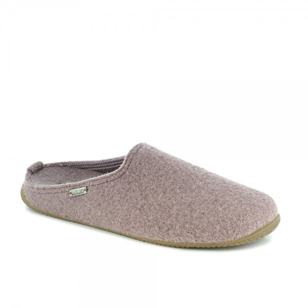 Pantoffel With Fußbett Elderberry Wool