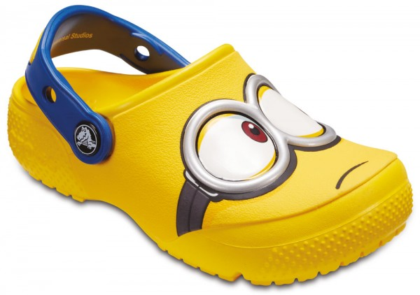 FunLab Minions Clog Kids Yellow Croslite