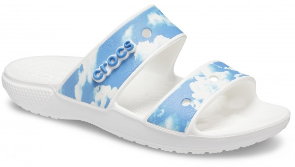 Classic Crocs Out Of This World Sandal White Croslite