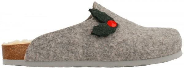 Helsinki Xmas Holly Grey Felt