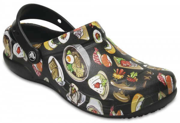 Bistro Graphic Clog Black / Tumbleweed Croslite