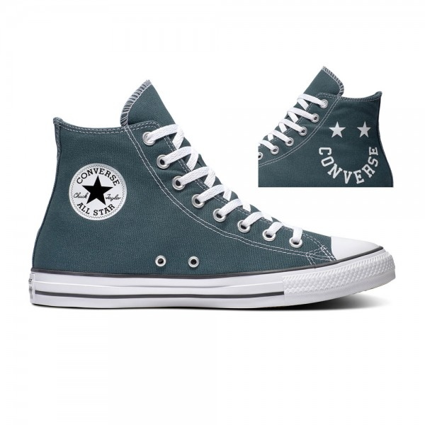 Chuck Taylor All Star - Hi - Faded Spruce / Black / White Canvas