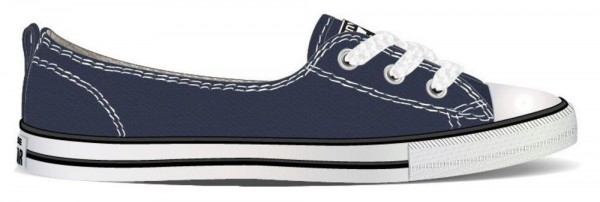 Chuck Taylor All Star Ballet Lace Navy Canvas