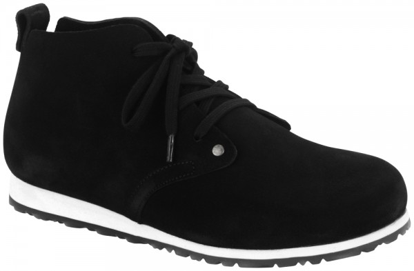 Dundee Plus Black suede leather