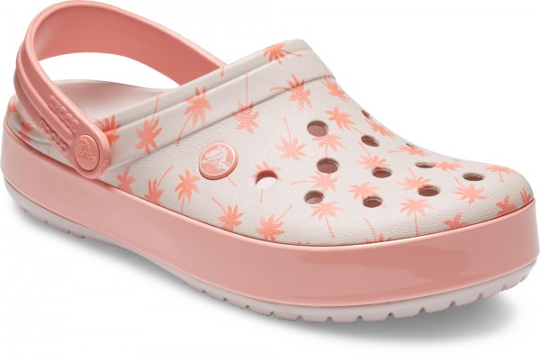 Crocband Seasonal Graphic Clog Barely Pink / Melon Croslite