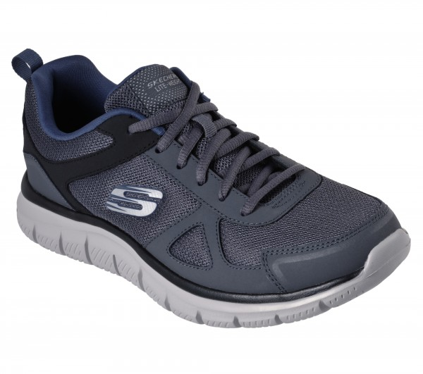 Track - Scloric - Grey / Navy Leather/Synthetic