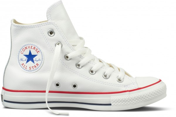 Chuck Taylor All Star Seasonal Hi White Leather