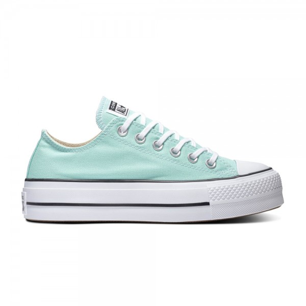 Chuck Taylor All Star Lift - Ox - Ocean Mint / White / Black Canvas