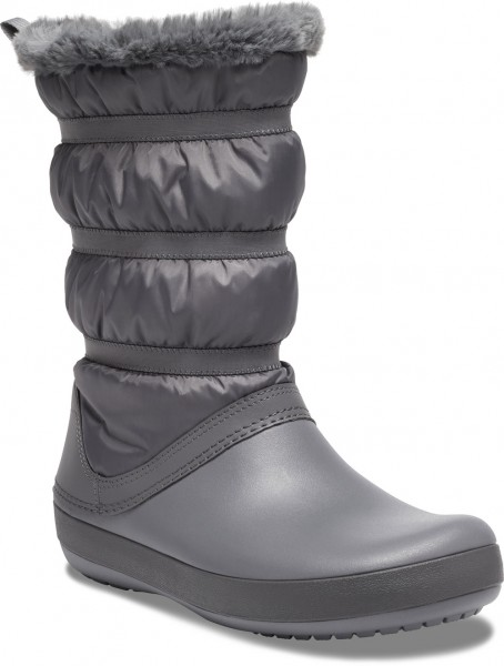 Crocband Winter Boot Women Charcoal Croslite