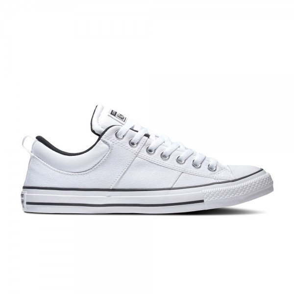 Chuck Taylor All Star Cs - Ox - White / White / Black Canvas