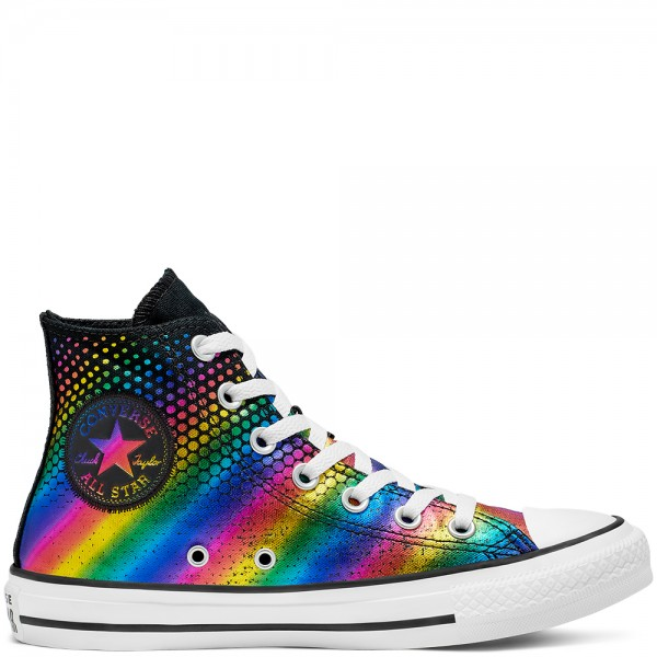 Chuck Taylor All Star Kaleidoscope Hi Black / Multi / White Canvas