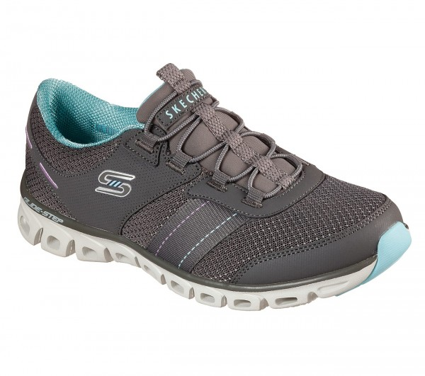 Glide-Step - Just Be You - Grey / Light blue Polyester