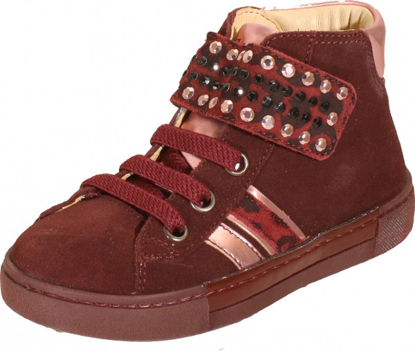 Psd 84306 - Red suede leather