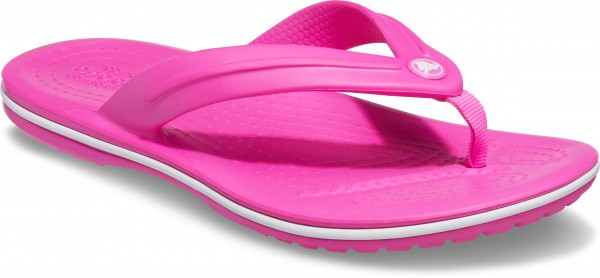 Crocband Flip Gs Electric Pink Croslite