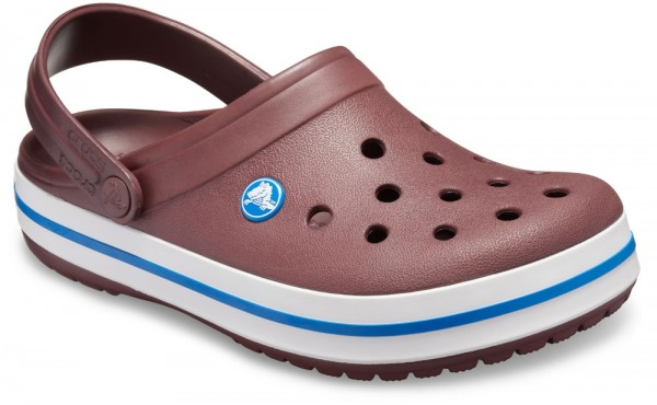 Crocband Burgundy / White Croslite