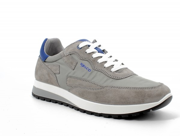 Uro 71220 - Grey suede leather