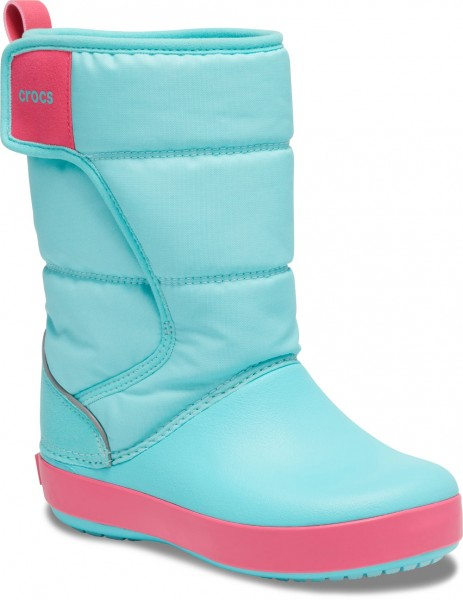 Lodgepoint Snow Boot Kids Ice Blue / Pool Croslite