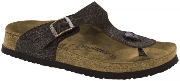 Gizeh Grace Brown Nubuck leather