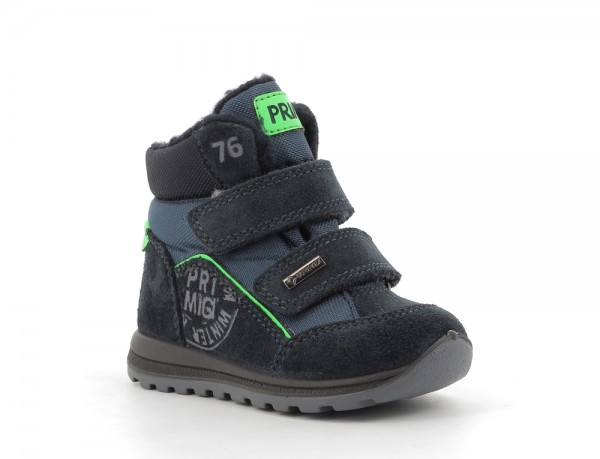 Ptigt 63567 - Navy suede leather