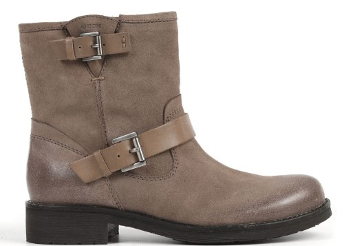 Geox D New Virna - Taupe Leather