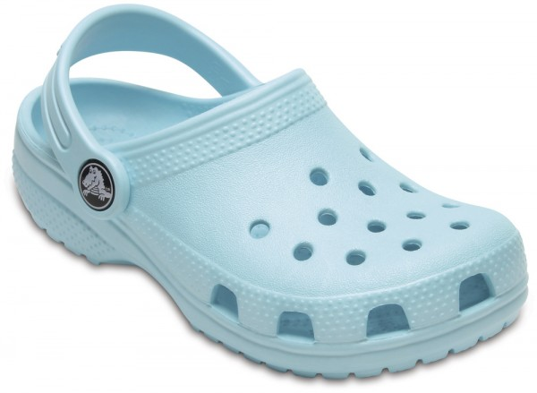 Classic Clog Kids Ice Blue Croslite