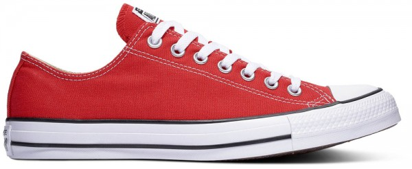 Chuck Taylor All Star Ox Red Canvas