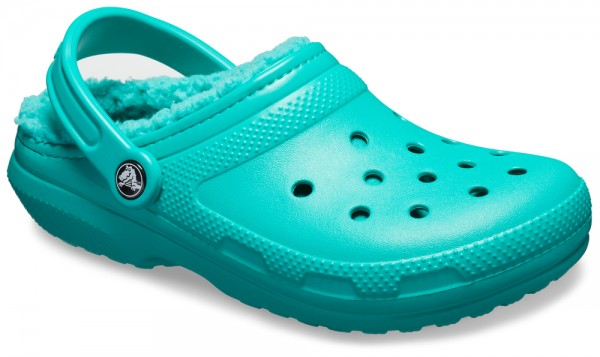 Classic Lined Clog Tropical Teal / Tropical Teal Croslite