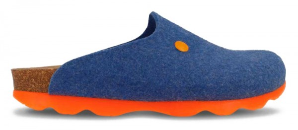 Helsinki Felt & Neon Blue/Orange Felt