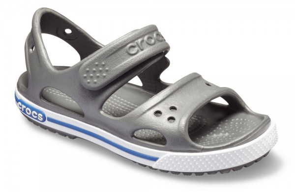 Crocband Ii Sandal Kids Slate Grey / Blue Jean Croslite