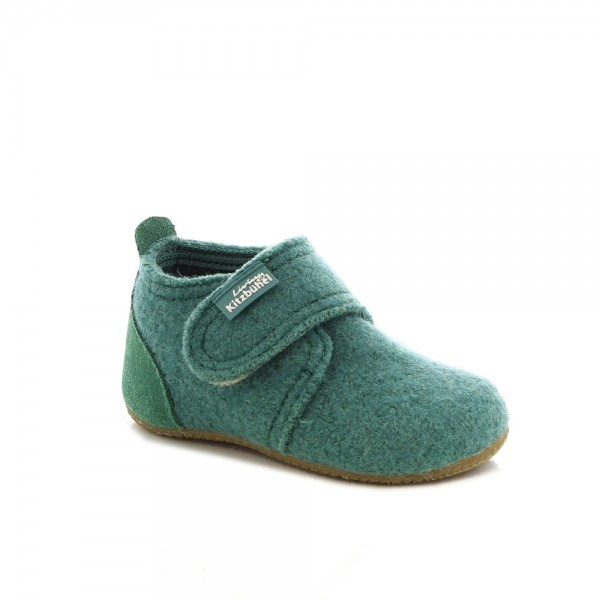 Babyklettschuh With Velourskappe Cactus Wool