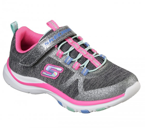 Trainer Lite - Jazzy Jumper - Charcoal / Hot Pink Polyester