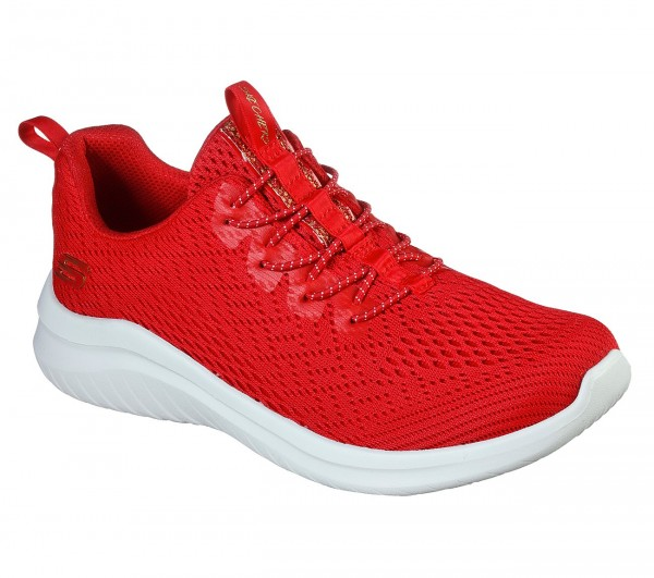 Ultra Flex 2.0 - Lite-Groove - Red Polyester