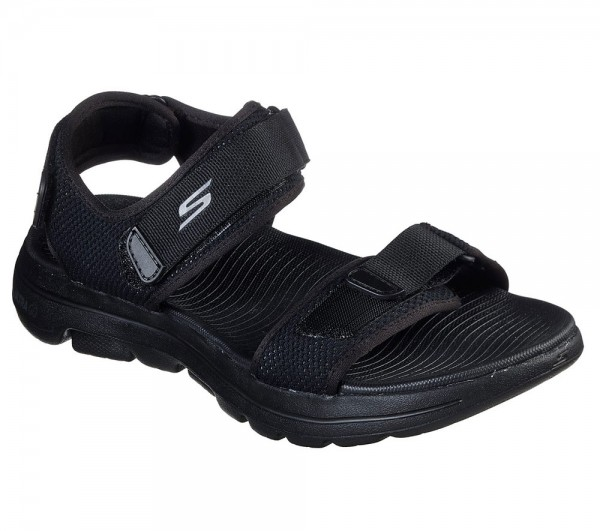Go Walk 5 Black / Black Synthetics