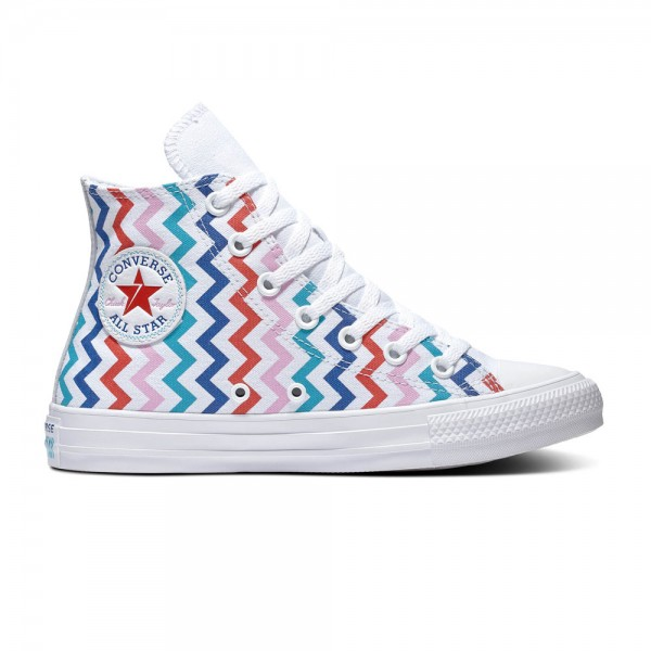 Chuck Taylor All Star - Hi - White / University Red Canvas