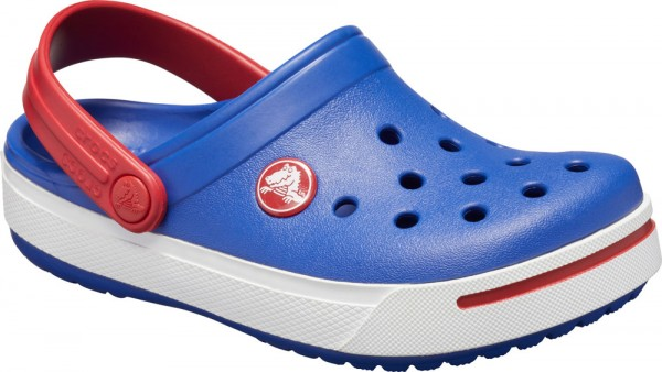 Crocband II Kids Cerulean Blue / Pepper Croslite