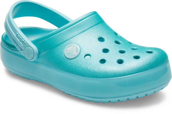 Crocband Ice Pop Clog Kids Ice Blue Croslite
