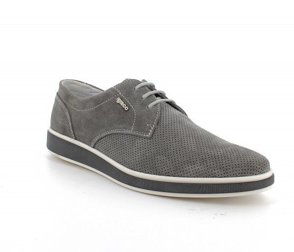 Ubw 71141 - Dark grey suede leather