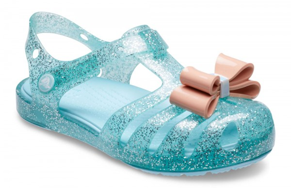Isabella Bow Sandal Kids Ice Blue Croslite