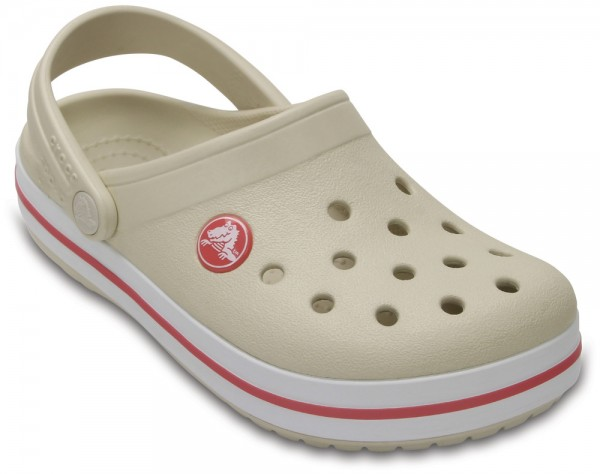 Crocband Clog Kids Stucco / Melon Croslite