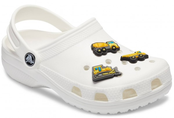 Crocs Jibbitz Construction Vehicle 3-Pack Rubber