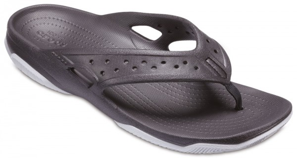 Swiftwater Deck Flip Black / Light grey Croslite