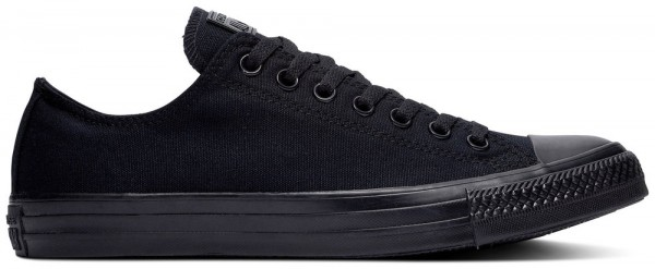 Chuck Taylor All Star Ox Black Monochrome Canvas