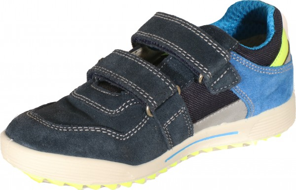 73880 - Navy / Blue suede leather