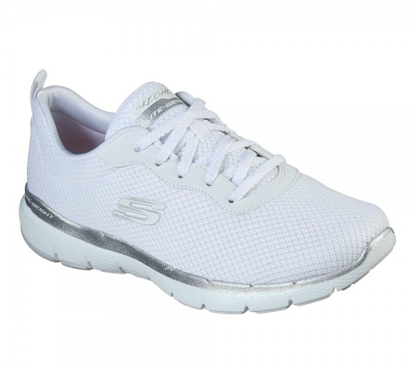 Flex Appeal 3.0 - First Insight White / Silver Textile
