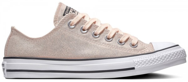 Chuck Taylor All Star Ox Washed Coral / Black / White Textile